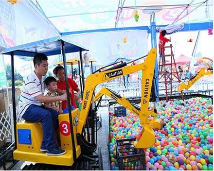 Детский аттракцион экскаватор купить по доступной цене