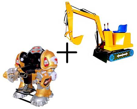 аттракцион-робот-для-детей