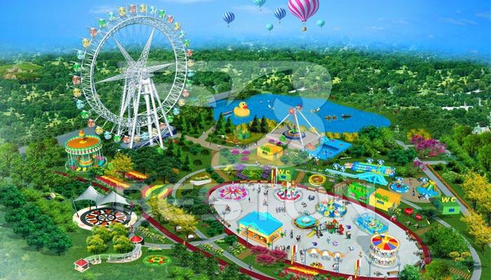 Дизайн-парка-развлечений-Фун-ворлд-в-Пакистане
