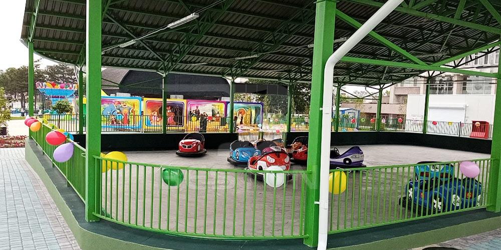 Бамперные машинки для парка